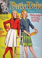 VINTAGE UNCUT 1964 PATTY DUKE PAPER DOLLS~#1 REPRODUCTION~NOSTALGIC & RARE