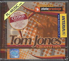 = TOM JONES -GREATEST HITS-CD+DVD polish release edition//sealed from Poland