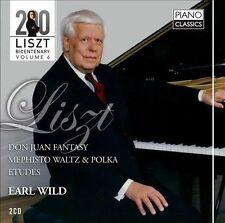 Liszt: Don Juan Fantasy, Mephisto Waltz, Etudes, New Music
