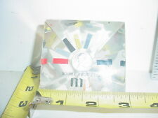 Lucite Paperweight w/ Queen Elizabeth II Coin - M & P Double Protection  (2477)