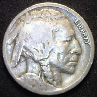 1917 D US Buffalo Nickel Good Condition Coin G Indian Head Five Cents