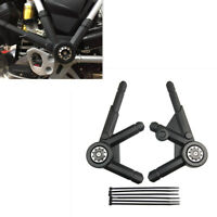 1 Set Schwarzes ABS Motorrad Seitenrahmen Panel Schutzfolie für BMW R1200GS LC