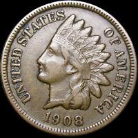 1908-S Indian Cent Penny ---- Nice L@@K  ---- #J705