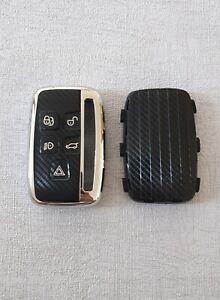 Soft TPU Key Case Cover for Land Rover Range Rover & Jaguar ☆SILVER☆Full Shell☆