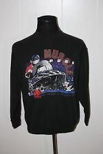 Vintage Shade Tree Powersports Snowmobile Muscle Pure Sweatshirt L