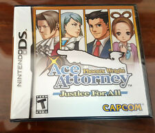 Phoenix Wright Ace Attorney JUSTICE FOR ALL Nintendo DS Brand New