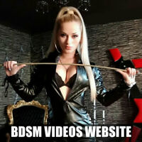 RARE Fully Automated BDSM Adult Videos Website For sale with admin -Must See