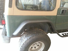 Jeep Wrangler YJ Rear 6'' Flare Tube Fenders D.I.Y. Kit