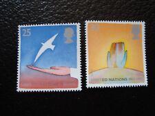 ROYAUME-UNI - timbre yvert/tellier n° 1819 1820 n** MNH (COL3)