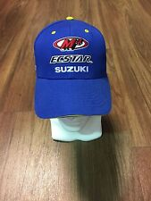 Suzuki M4 Ecstar Suzuki Team Hat - One Size  - Genuine Suzuki - Brand New