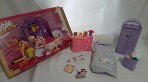 Vintage 90s Barbie So Much To Do- Bedroom playset w/BOX RARE