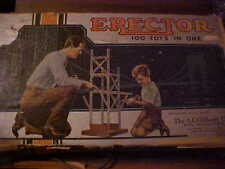 1948 THE A.C. GILBERT CO. NEW HAVEN CT. ERECTOR SET, WITH ELECTRIC ENGINE.