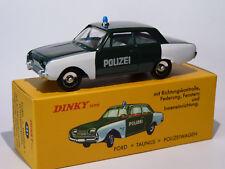 Ford taunus 17m german police/polizei-ref 551 - 1/43 atlas dinky toys