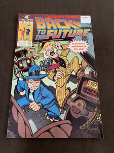 Comic Book / Back to the future