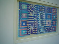 AGAM Original Color Agamograph - Signed & Numbered