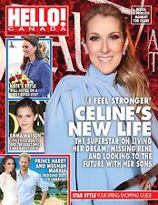 Hello Canada Magazine Celine's New Life & Kate's Style  Mar.2017 #545 New