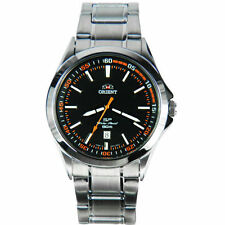 Orient Stainless Steel Band Men's Sport Wristwatches