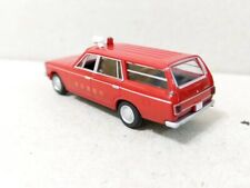 Tomytec 1/80 HO scale model car 80s-Toyota Crown Wagon Japan Fire Department