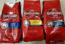 New listing 3pk Community Coffee Premium Ground Coffee, 12 Oz.Mixed Packages