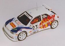 PEUGEOT 306 KIT DAMIOLI RALLY VALLI BRESCIANE 1999 DECALS SERIGRAFIA 1/43