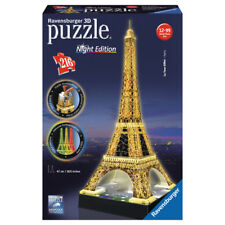 Ravensburger 3D Eiffel Tower Night Edition Puzzle 216 Piece NEW