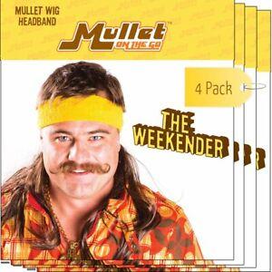 The Weekender Mullet Headband Wig