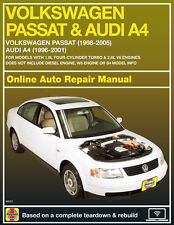 2004 Volkswagen Passat Haynes Online Repair Manual-Select Access