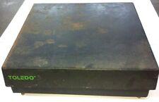 """TOLEDO Scale Model 2095 (20"""" X 20"""" Base) Class III (0-150 lbs) Works!"""