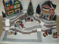 Christmas Village Display Platform J31 For Lemax Dept 56 Dickens + More