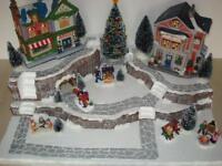 Christmas Village Display Platform J31 For Lemax Dept 56 Dickens + More