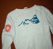 BLYSS 247 Ice Blue 2-Ply 100% Cashmere Sweater XS V-neck Pristine Cond-n