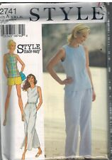 2741 UNCUT Style Pattern Misses Skirt Pants Shorts Top Easy Mix Match OOP SEW FF