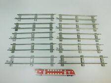bk322-1 #10x MÄRKLIN escala 0 Vía / piezas de Vía Recto (26 cm) PARA