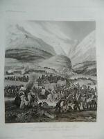 L' Army French Choose Bourg of St Stone 1800 Thévenin Aubert Loeillot Gavard