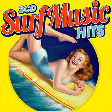 CD Surf Music Hits by Various Artists 3 Cds