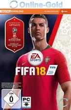 FIFA 18 - PC Standard Spiel Key - EA ORIGIN Digital Code FIFA 2018 [Action]DE/EU