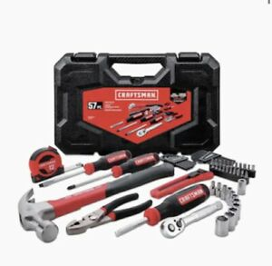 CRAFTSMAN 57-Piece Household Tool Set with Hard Case