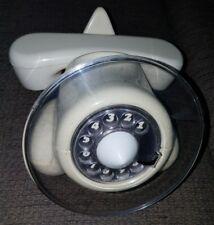 Alexander graham white Air plane rotary dial  Telephone RARE VINTAGE