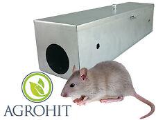 Ratten Köderstation Köderbox Rattenbox Rattenfalle Metall verzinkt
