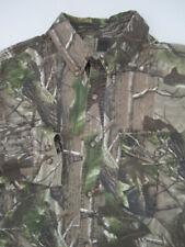 Mens Large Beretta camo hunting shooting button vented shirt