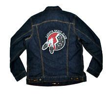 Levi's Lakota Skate Club Type 2 Trucker Jacket Large Indigo Unreleased Sioux
