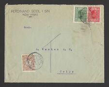 Yugoslavia 1930s Novi Vrbas cover with postage due 1d canc. CELJE