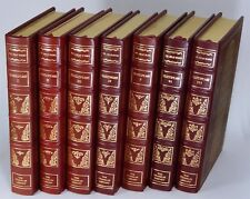 The Plays and Sonnets of SHAKESPEARE: Nr. Fine Franklin Library 7-Vol. set 81422