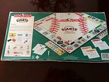 MONOPOLY BOARD GAME SAN FRANCISCO GIANTS COLLECTORS EDITION, ages 8 to Adult