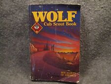 Wolf Cub Scout Book 1986 Paperback Book w/ Parent Guide Boy Scouts Of America