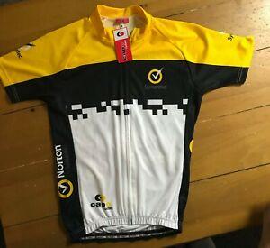 Capo Custom Adult Sz Small Cycling Jersey Norton By Symantek M1