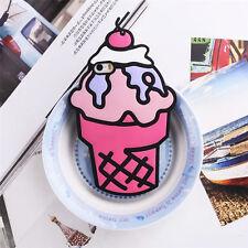 3D Cartoon Starbucks Ice Cream Soft Silicone Phone Case For iPhone 5 6 7 8 Plus
