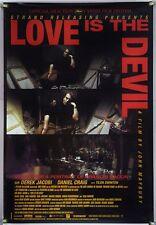 LOVE IS THE DEVIL ROLLED ORIG 1SH MOVIE POSTER DEREK JACOBI DANIEL CRAIG (1998)