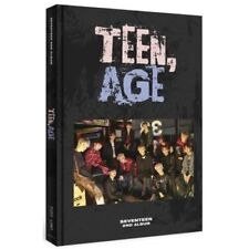SEVENTEEN 2nd Album TEEN, AGE RS ver.CD+Book+POSTER (ON PACK)+Card+Standing