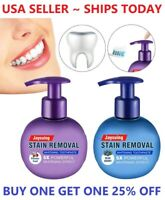 Intensive Stain Removal Whitening Toothpaste Press Type Fight Bleeding Gums